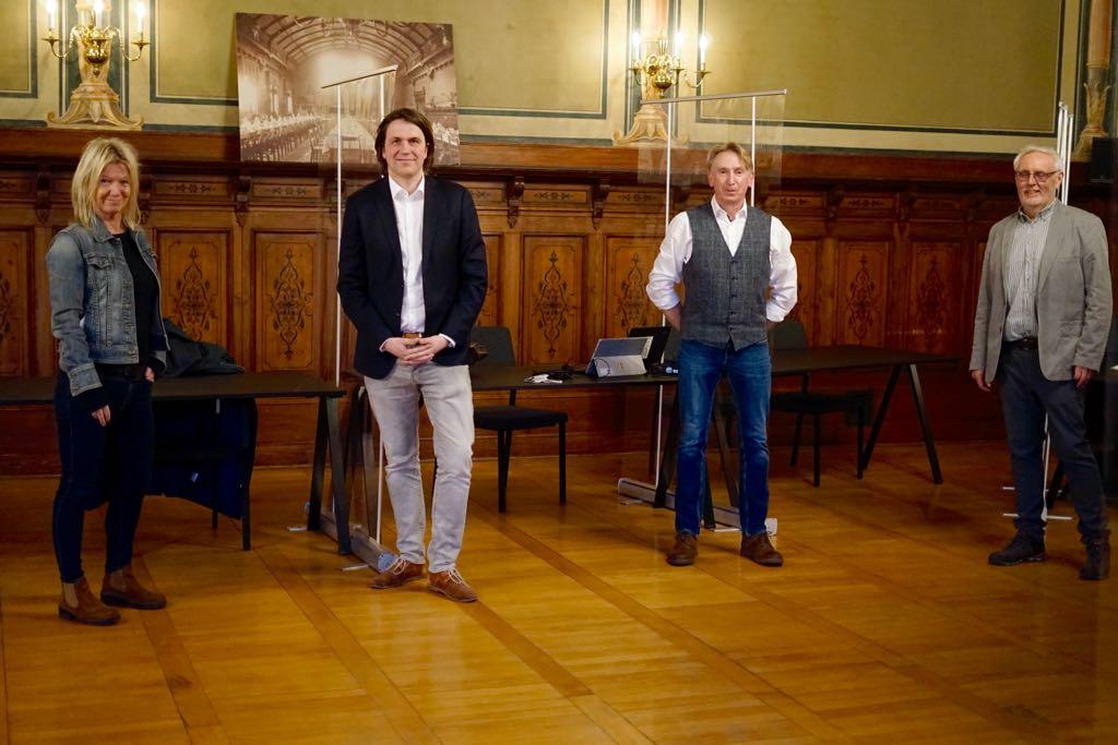 Bürgermeister-Wahl in Leer: Willems und Penning stellten sich vor