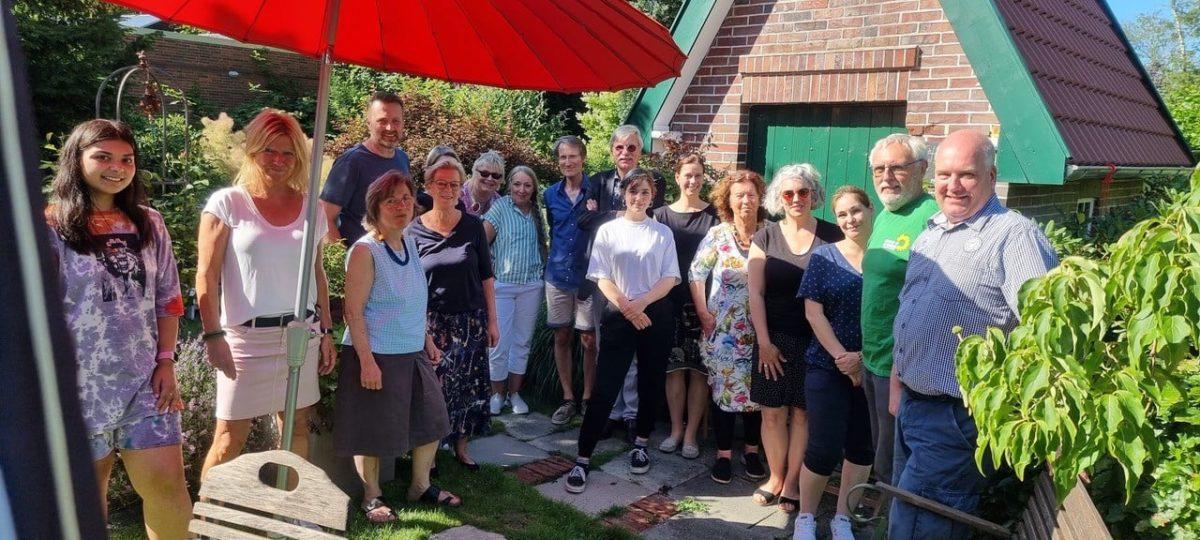 Grünes Sommerfest mit Bürgermeisterkandidat Horst