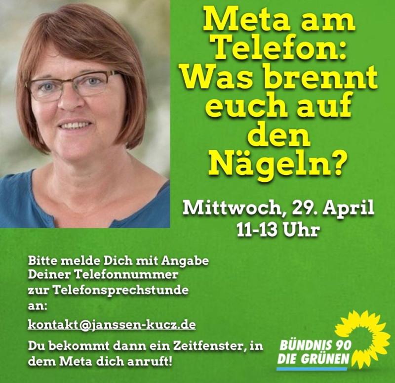 Meta Janssen-Kucz und Text des Beitrages