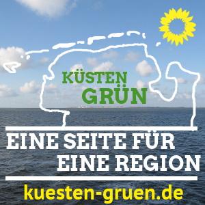Hinweis Eine Seite für eine Region kuesten-gruen.de