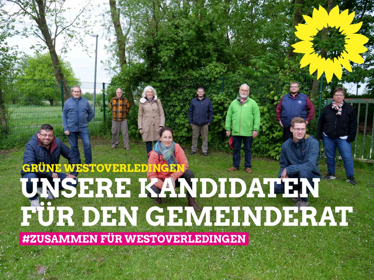 Erfolgreiche Listenaufstellung der Westoverledinger Grünen