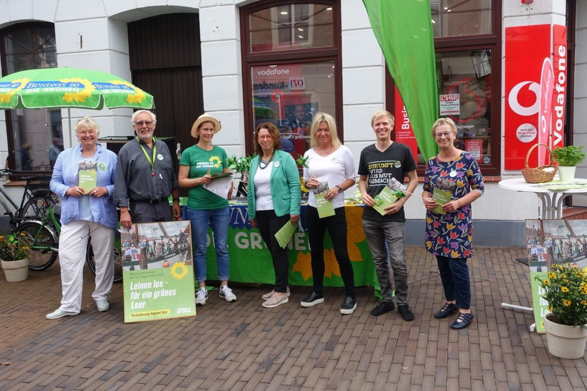 Mit grüner Power in den Wahlkampf